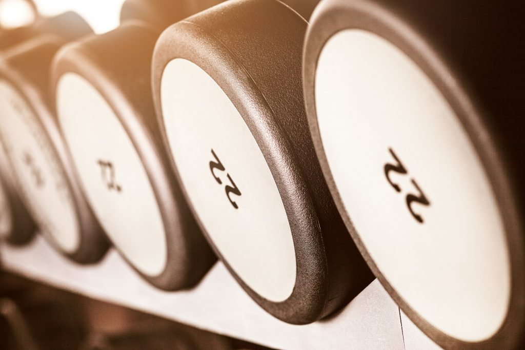 kit manubri bodybuilding 20kg